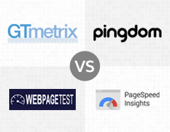 GTmetrix vs Pingdom vs WebPagetest vs Pagespeed Insights