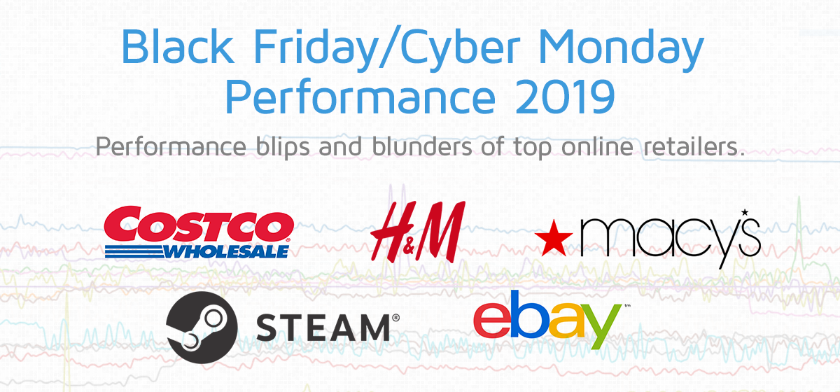 Black Friday Cyber Monday 2019 Performance Blips And Blunders Of Top Online Retailers Gtmetrix